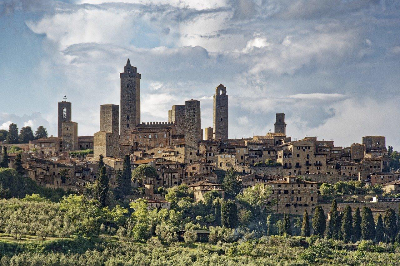 San Gimignano Sky line