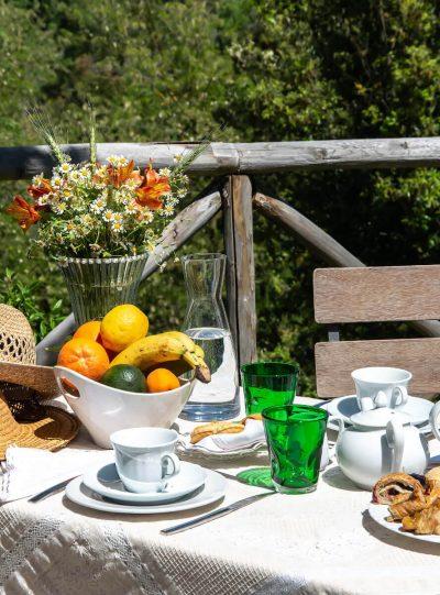 Colazione all'aperto - Torrino Country Resort